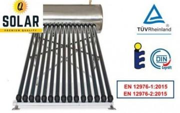 Panou solar presurizat cu boiler 200l 20 tuburi Q Solar