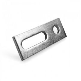 Placa adaptoare din inox pentru suporti de tabla
