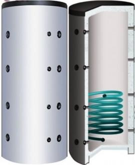 Puffer de 600 Litri S-line cu 1 serpentina