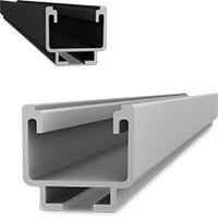 Sina profil aluminiu 4.3 m montaj panouri fotovoltaice K2 Systems AG