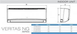 Aer conditionat tip inverter Pompa de caldura Cooper & Hunter 12000 BTU Veritas Alpha Wi-Fi