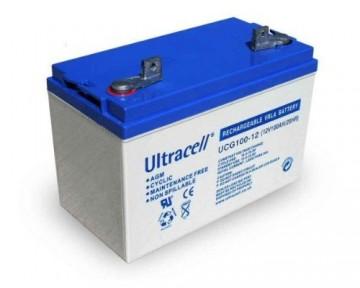 Baterie solara cu GEL ULTRACELL 12V 100AH UCG