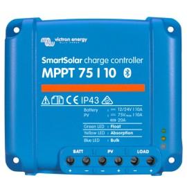 REGULATOR VICTRON ENERGY SMART SOLAR MPPT 75/10