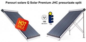 Panou solar cu 20 de tuburi vidate Q Solar Premium