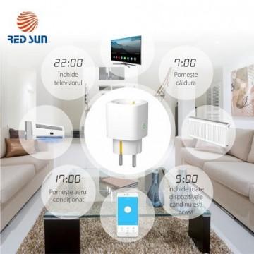 Priza Smart cu Wi-Fi control monitorizare