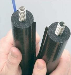 Teava flexibila de inox izolata DN16  pentru montajul instalatiilor solare termice