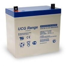 Baterie solara cu GEL ULTRACELL 12V 55AH UCG