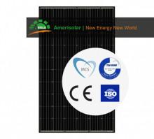 Panou solar fotovoltaic Amerisolar 320Wp AS-6M-320W monocristalin Fullblack