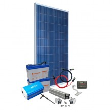 Sistem fotovoltaic Off Grid 50W - invertor 12V 200W