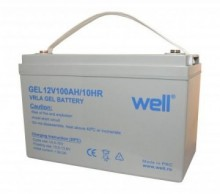 Baterie solara Well cu gel 12V 100Ah