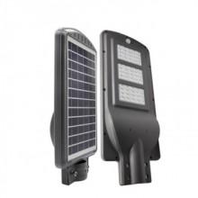 Corp de exterior LED 60W cu panou solar si acumulator pentru iluminat stradal