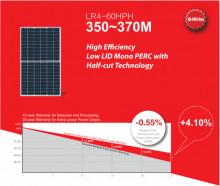 Panou solar fotovoltaic Longi Solar LR4-60HPH-360M de înaltă performanță