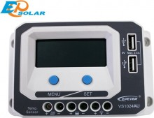 Regulator de incarcare solar EPSolar VS1024AU 12-24V 10A