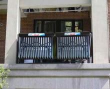 Panou solar cu 15 de tuburi vidate pentru balcon Ruty