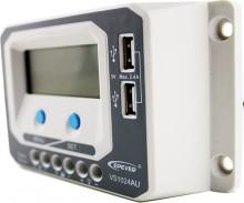 Regulator de incarcare solar EPSolar VS1024AU 12-24V 10A