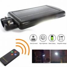 Corp LED 30W de exterior pentru iluminat stradal panou solar si acumulator