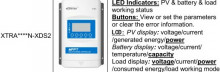 Controller Solar MPPT XTRA2210N N-XDS2 20A | 12/24VDC Auto | 100V
