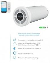 Recuperator caldura ventilatie PRANA 200G Premium