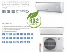 Aer conditionat tip inverter Pompa de caldura Cooper & Hunter Arctic 9000 BTU Wi-Fi