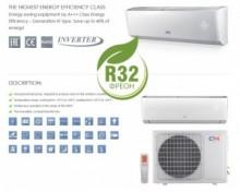 Aer conditionat tip inverter Pompa de caldura Cooper & Hunter Arctic 9000 BTU Wi-Fi