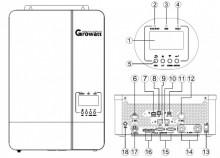 Growatt Invertor Off Grid Hibrid SPF 5000 ES