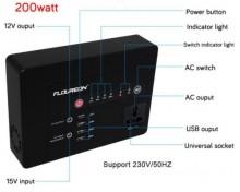 POWER BANK cu panou SOLAR FLOUREON  acumulator litiu-ion  146Wh