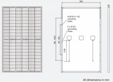 HC BLK AC-330MH Dimensiuni