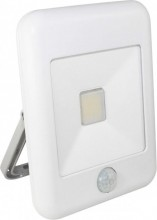 Proiector LED cu senzor 10W 700lm IP44 4000K alb Well