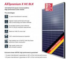 AXITEC AXIPREMIUM X HC BLK AC-330MH/120S 330 Wp panou solar fotovoltaic de înaltă calitate