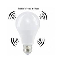 Bec LED cu senzor de prezenta 360 grade E27 10W