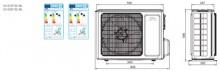 Aer conditionat tip inverter Pompa de caldura Cooper & Hunter 18000 BTU Veritas Alpha Wi-Fi