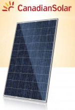 Panou solar fotovoltaic policristalin Canadian Solar 270 Wp