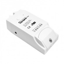 Automatizare Wireless cu senzor temperatura Sonoff TH16 16A