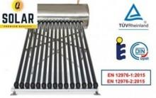 Panou solar presurizat cu boiler 100l 10 tuburi Q Solar