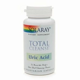 Poze Total Cleanse Uric Acid 60 cps