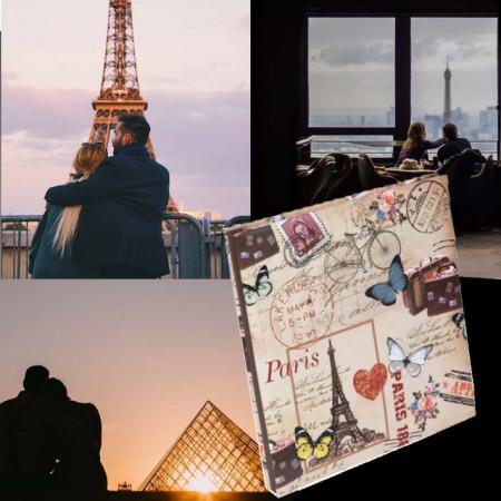 Album foto Lovely Paris, 30 x 26 cm, Pufo