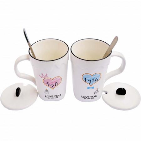 set cani ceramica pentru cafea sau ceai