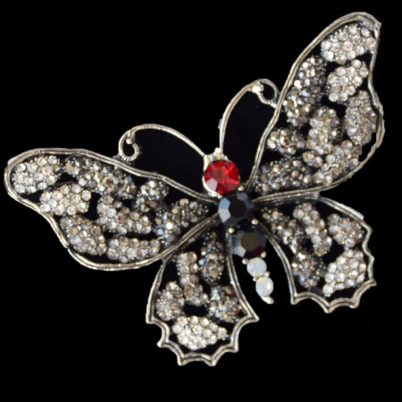 brosa eleganta forma fluture