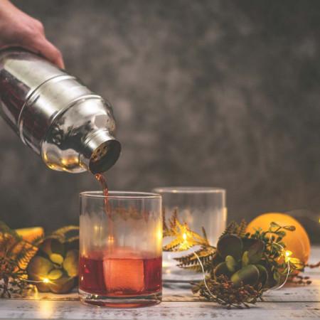 Shaker metalic pentru bar si cocktail, 600ml, Pufo