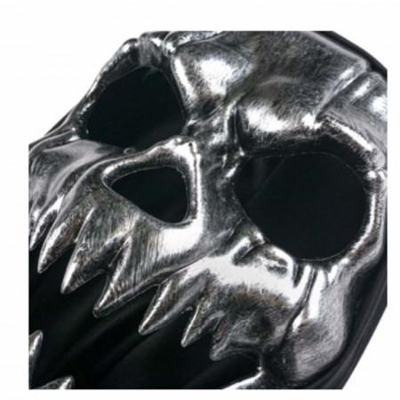 masca halloween cap schelet cu gluga