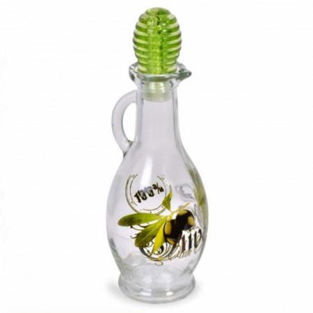 recipient din sticla pentru ulei/ ulei de masline