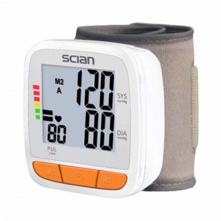 Tensiometru digital de incheietura de mare precizie, digital, manual, media la 3 masuratori, sistolic/diastolic, Pufo