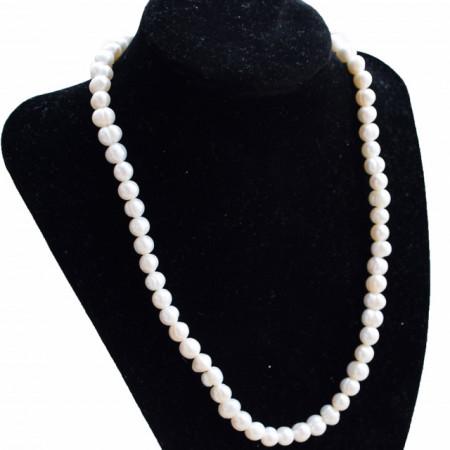colier cu perle naturale