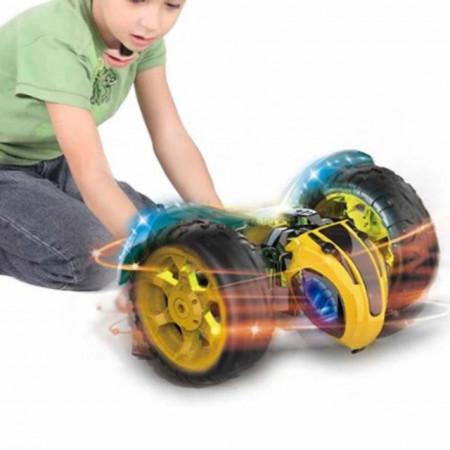 Masina acrobatica cu telecomanda Turbo Super Bee, rotire 360ᵒ, cu sunete si lumini