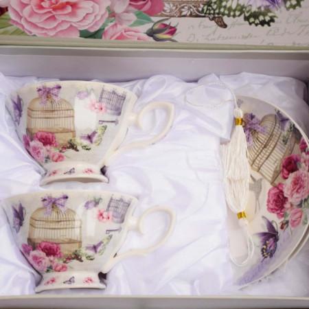 set elegant pentru ceai sau cafea