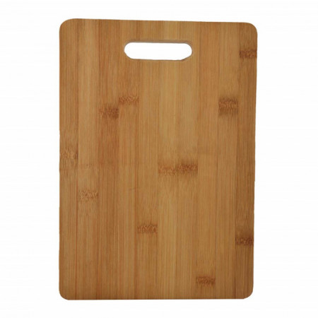tocator mare din lemn de bambus