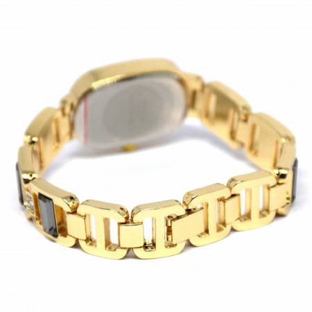 ceas dama auriu metalic