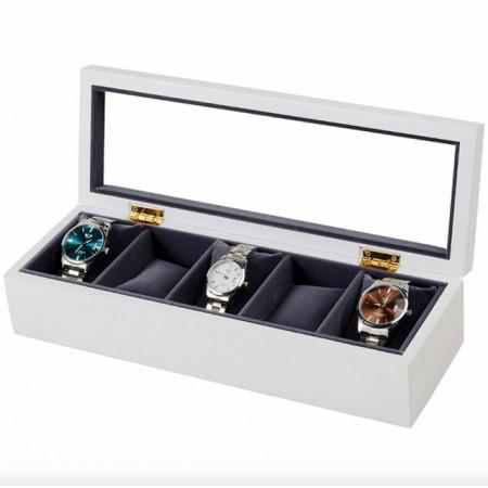 cutie caseta din lemn pentru depozitare ceasuri