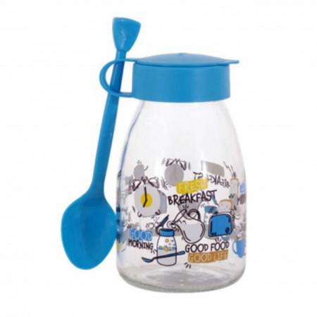 borcan pentru copii cu lingurita