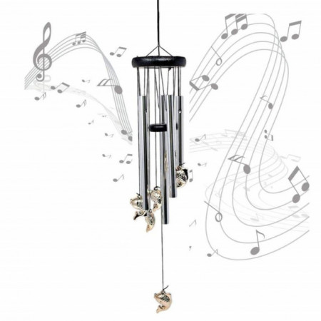 clopotel de vant cu tuburi sonore